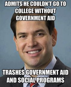 rubio-trashes-social-programs