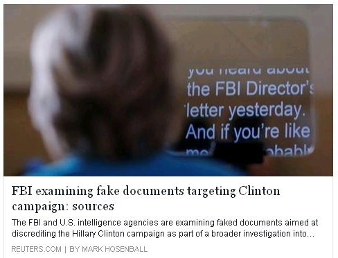 fbi fake docs