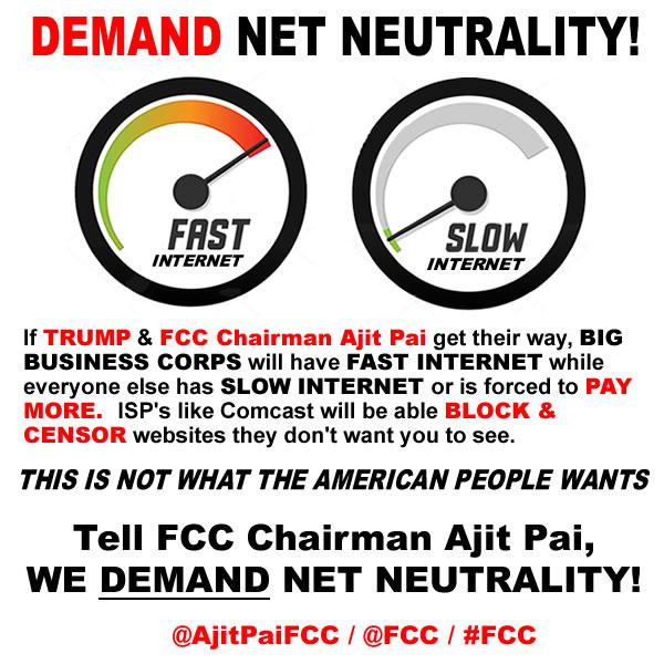 trump wants to end net neutrality